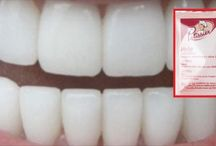 Weiße Zähne