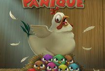 Poule Panique / Aidez Mère Poule à retrouver ses petits!