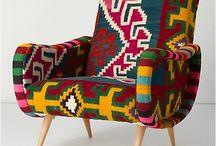 Chairs & sofas & cushions