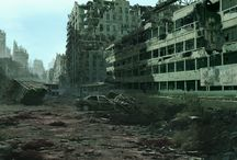 matte paintings / by Luc Cromheecke