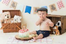 Baby Bear Cake Smash