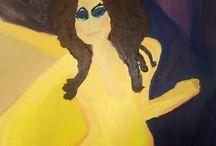 leijmuuwnzaffa oil colors / my oil color paintings - shared already on my leijmuuwnzaffa.wordpress.com blog. Expressionist - maybe avant garde?