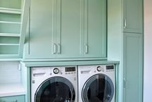 New Laundry Room / Ideas for the new laundry room. / by Cathy Stott