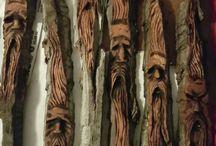 Westcoast wood spirits / Wood spirits carving