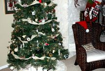 May Arts Ribbon Christmas Trees