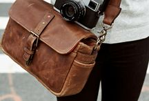 Camera bags and straps