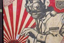 Artist: Shepard Fairey / #artist #shepard_fairey #street_art #unsanctioned_public_art