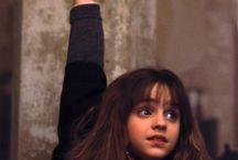 Hermione Harry y Ron