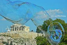 Acropolis / Bubbles in Athens