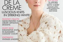 Vogue knitting и др.журналы