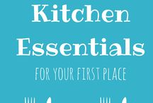 Kitchen Essentials / The essential items you need in a well-stocked kitchen, from grocery lists to pantry lists to the gadgets and appliances you need to make eating easy.