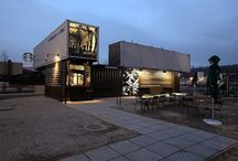 shipping container in architecture