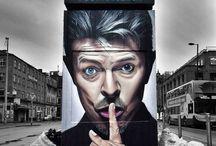 A R T:Sous toutes ses formes / David BOWIE ?  Street ART