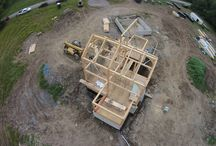 2015 Timber Frame Raisings / by Woodhouse Timber Frame