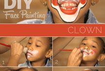 Face Painting / Designs for painting on children's faces.