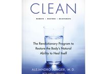 Detox Books / German and English Books about DETOX and CLEANSING - worth a read!