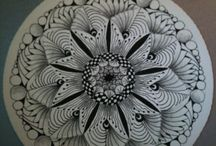 Zentangle bloem