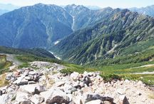 爺ヶ岳(北アルプス)登山 / 爺ヶ岳の絶景ポイント 北アルプス登山ルートガイド。Japan Alps mountain climbing route guide