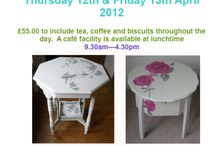decoupage/painted furniture