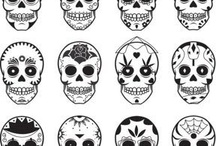 Day of the dead / Sugar skulls and more...