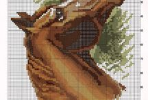 Cross Stitch - Horse