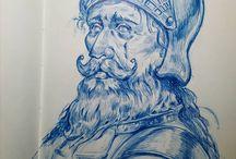 Nazar.iy / Nazariy Voloshchuk Sketchbooks
