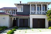 Exterior paint red roof