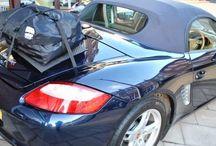 Porsche Boxster Gepäckträger / Die Alternative zu einem Gepäckträger für Porsche Boxster.Hinzufügen von Wasserdicht 50 Liter Gepäckraum