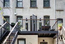 Narrow House Backyard ❤
