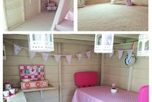 Playhouse interior decor