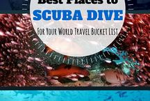 World's Best Diving Sites / Always on the lookout for new and exciting diving adventures.