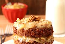 sweets: layer cakes