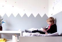 stanza x Ettore / progetti per le pareti