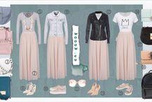 Móda: sukňa & bunda v hlavnej úlohe