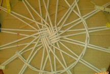 papírové pletení-návody