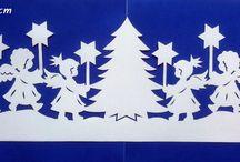 fensterbilder weihnachten