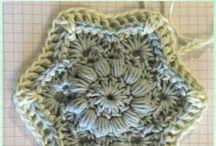peças de crochê