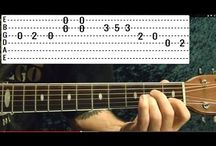 Guitar, Blues riffs, etc.