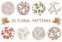➤ Motifs / Patterns, motifs, créatif, illustrations, design, inspiration