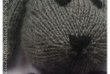 muñecas de lana