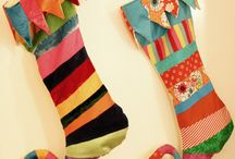 Christmas Inspiration / Lots of Christmas fabrics and tutorials to get you in the mood for the festive season