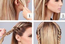 Fonások / Hajfonatok, hair braids