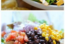 Flavorful Salads / Various salad ideas that look delicious and that my husband might eat.