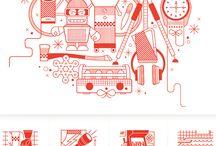 Line style illustration
