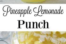 Summer Fruit Punchs