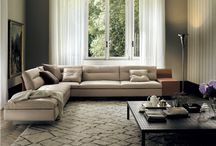Poltrona Frau - Gran Torino Sofa / GranTorino sofa- a modular sofa conceived from a grand collaboration between award-winning French designer Jean-Marie Massaud and century-old Italian furniture brand Poltrona Frau.  Read on: http://bit.ly/1xuk7VL