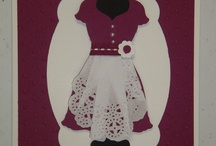 Stampin up Dressed up / Examples of projects using the framelit from Stampin up
