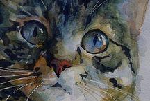 Koty / malarstwo