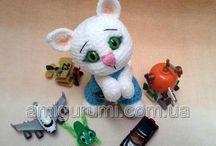 háčkované hračky