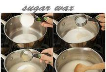 Sugaring hair removal